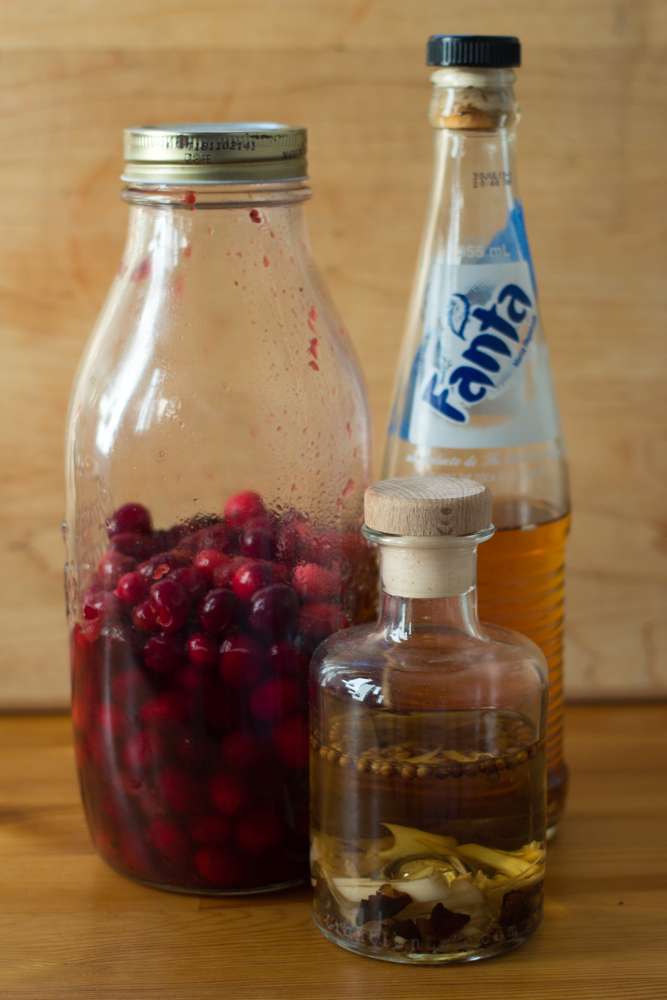 cranberry bitters for thanksgiving and christmas cocktails